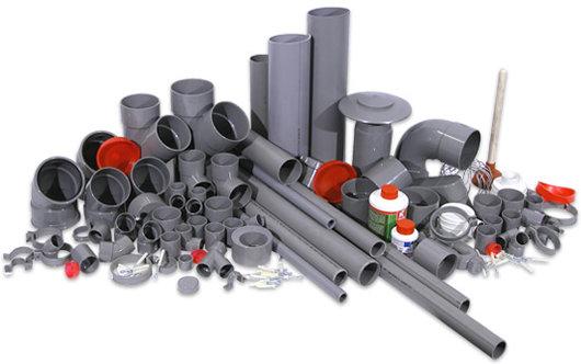 PVC-Afvoermaterialen