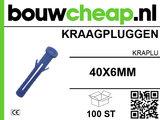 Kraagpluggen 40x6