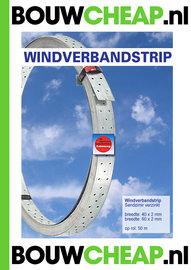 Windverbandstrip 40x2x50mtr