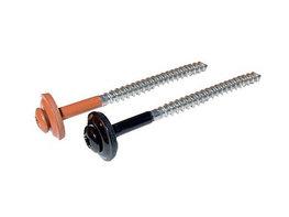 RVS schroeven torx met RVS/EPDM ring 65mm