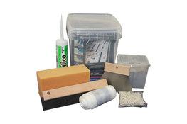 Douchegoot montage kit (epoxy)
