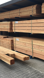 Douglas planken vers gezaagd ruw 22 x 200mm