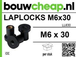 Laplocks M6 x 30mm