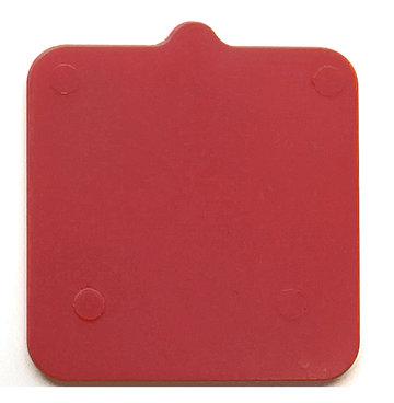 Drukplaat zonder sleuf 5mm (192st.)