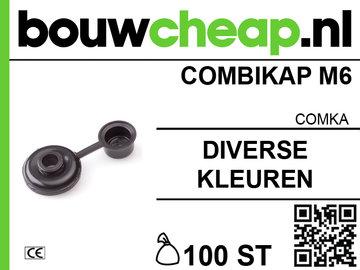 Combikap M6 (100 st.)