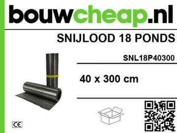 Snijlood 18 ponds 40x300 cm (Rol)
