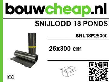 Snijlood 18 ponds 25x300 cm (Rol)