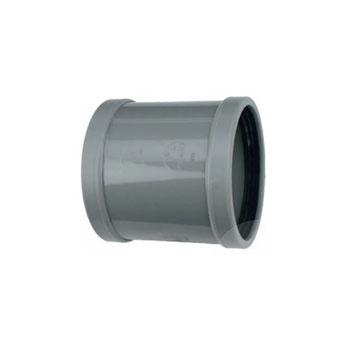PVC overschuifsok 125mm