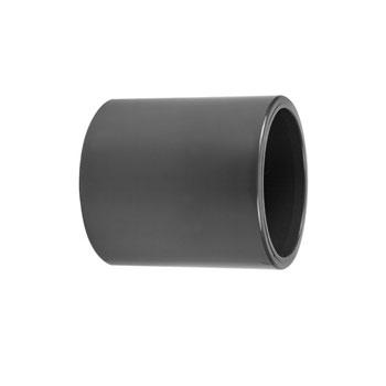 PVC lijmsok 125mm twee keer inwendig