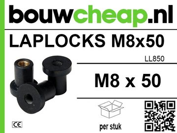 Laplocks M8 x 50mm