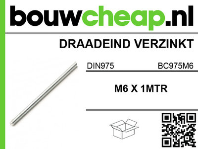 draadeind m6 din975